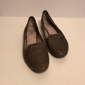 Vince Camuto Lancer Perforated Cut Out Flats